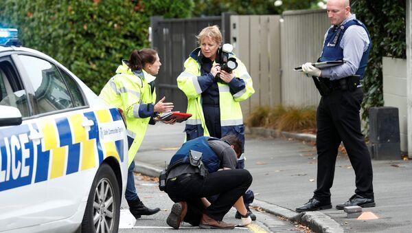 El lugar del ataque a las mezquitas en Christchurch, Nueva Zelanda - Sputnik Mundo
