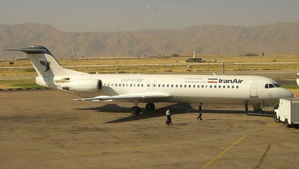 Un Fokker 100 de Iran Air - Sputnik Mundo