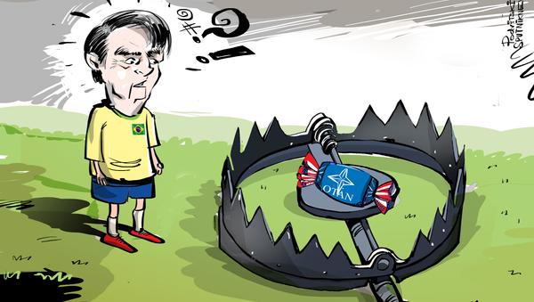 La seductora trampa de EEUU para Brasil - Sputnik Mundo