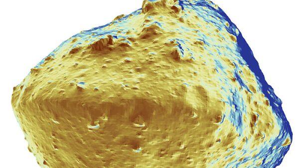 El mapa de la distribución del agua sobre la superficie del asteroide Ryugyu - Sputnik Mundo
