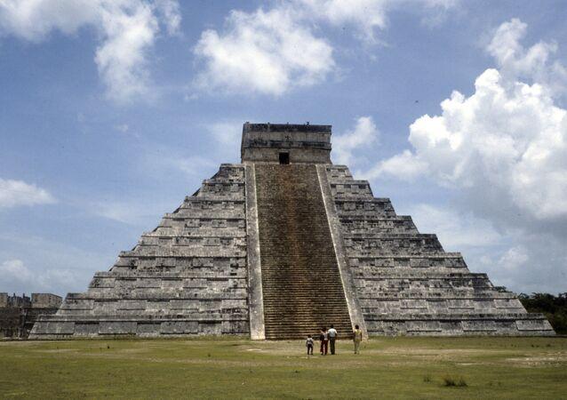 El templo de Kukulcán, en Chichén Itzá, uno de los complejos arqueológicos mayas más importantes de México