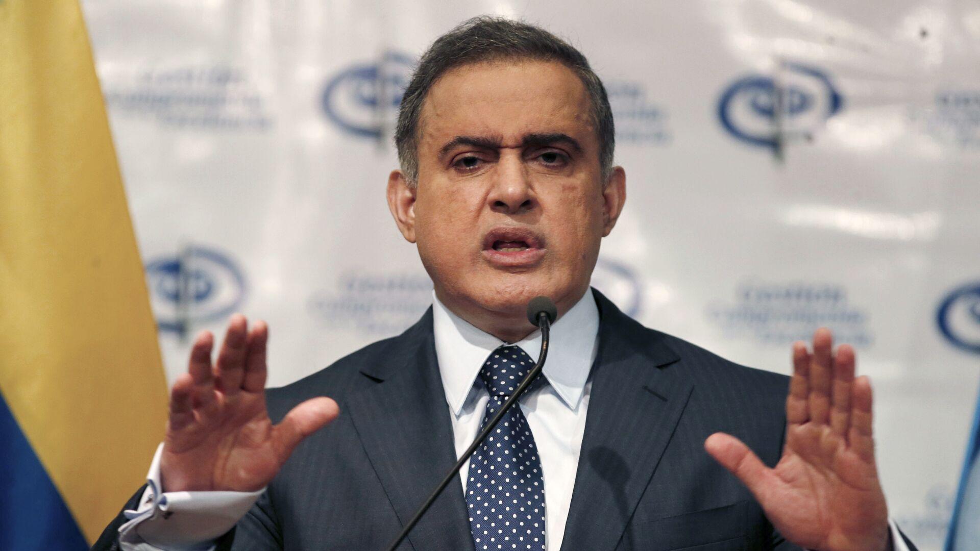Tarek William Saab, fiscal general de Venezuela - Sputnik Mundo, 1920, 01.07.2021