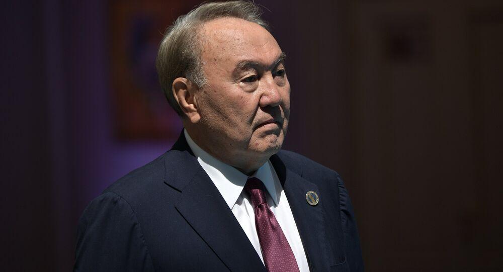 Expresidente de Kazajistán, Nursultán Nazarbáev