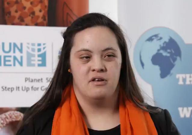 La activista argentina Daniela Elizabeth Giuliano