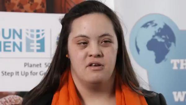 La activista argentina Daniela Elizabeth Giuliano - Sputnik Mundo