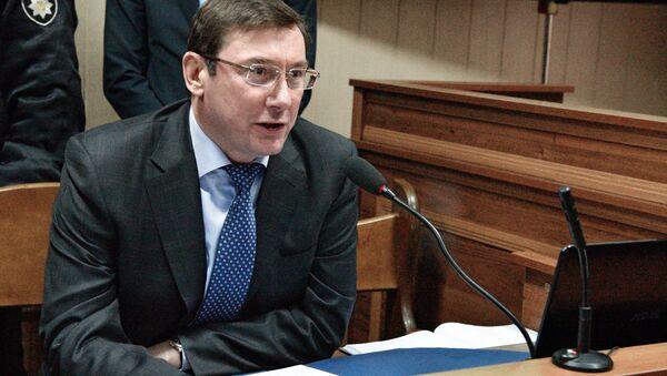 Yuri Lutsenko, fiscal general de Ucrania - Sputnik Mundo