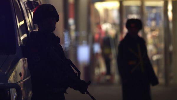 Policías chinos (Archivo) - Sputnik Mundo
