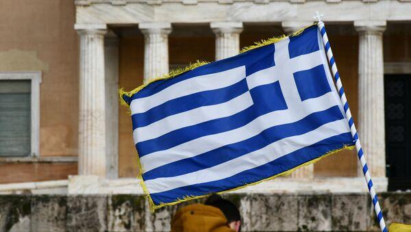 La bandera de Grecia - Sputnik Mundo