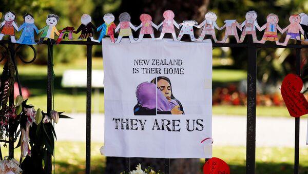 El homenaje a las víctimas del tiroteo en Chistchurch, Nueva Zelanda - Sputnik Mundo