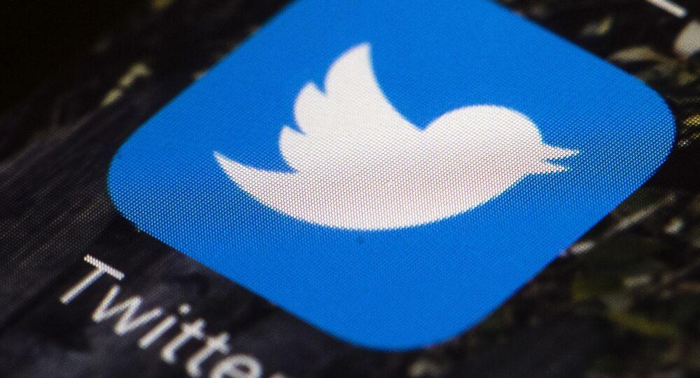 El icono de Twitter