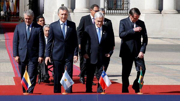 Participaneas de la primera cumbre de Prosur - Sputnik Mundo