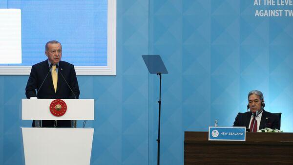 El presidente de Turquía, Recep Tayyip Erdogan - Sputnik Mundo