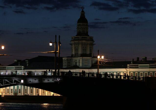 La Hora del Planeta en San Petersburgo (archivo)