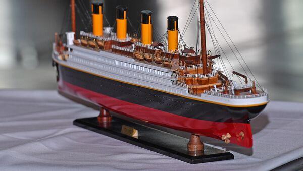 Un modelo del buque Titanic, referencial - Sputnik Mundo