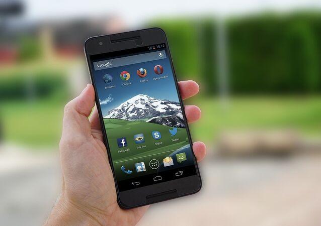 Un teléfono inteligente a base de Android