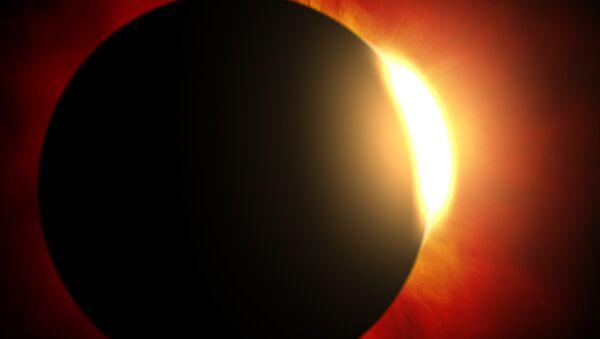 Sol detrás de un planeta - Sputnik Mundo