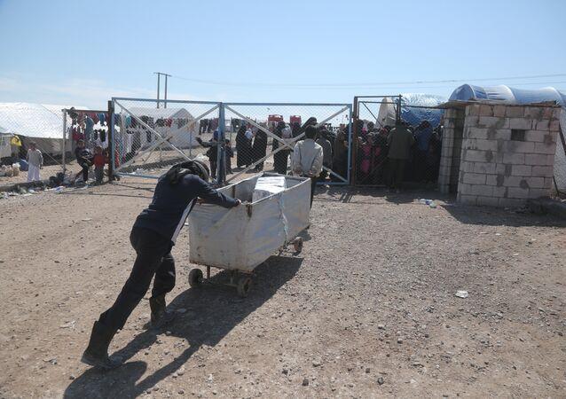 El campamento de refugiados Al Hol
