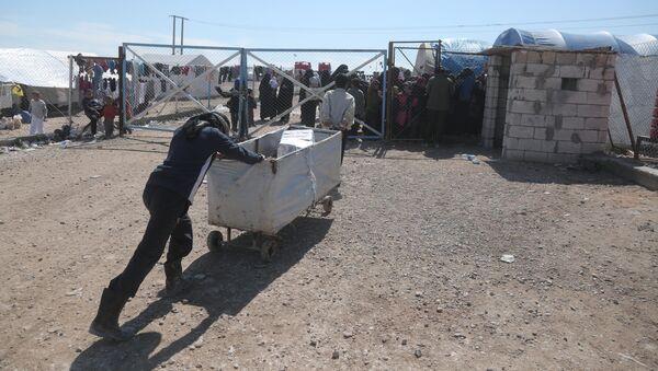 El campamento de refugiados Al Hol - Sputnik Mundo