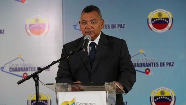 Néstor Reverol, ministro del Interior y Justicia y Paz de Venezuela - Sputnik Mundo