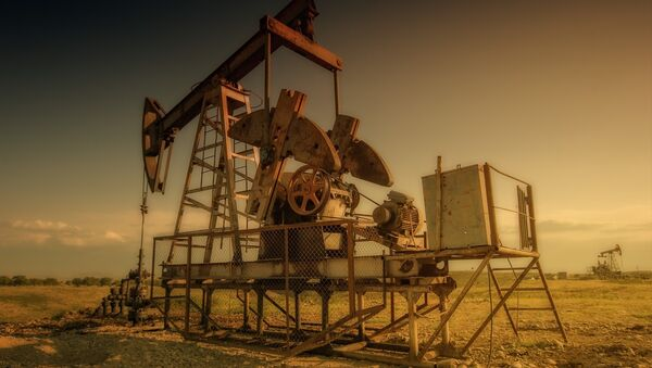 Una plataforma petrolera  - Sputnik Mundo