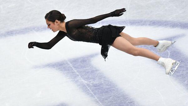 Evguéniya Medvédeva participa en el Campeonato Mundial de Patinaje Artístico - Sputnik Mundo