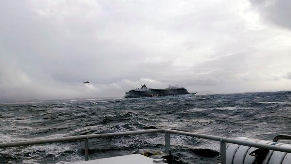 El crucero Viking Sky - Sputnik Mundo