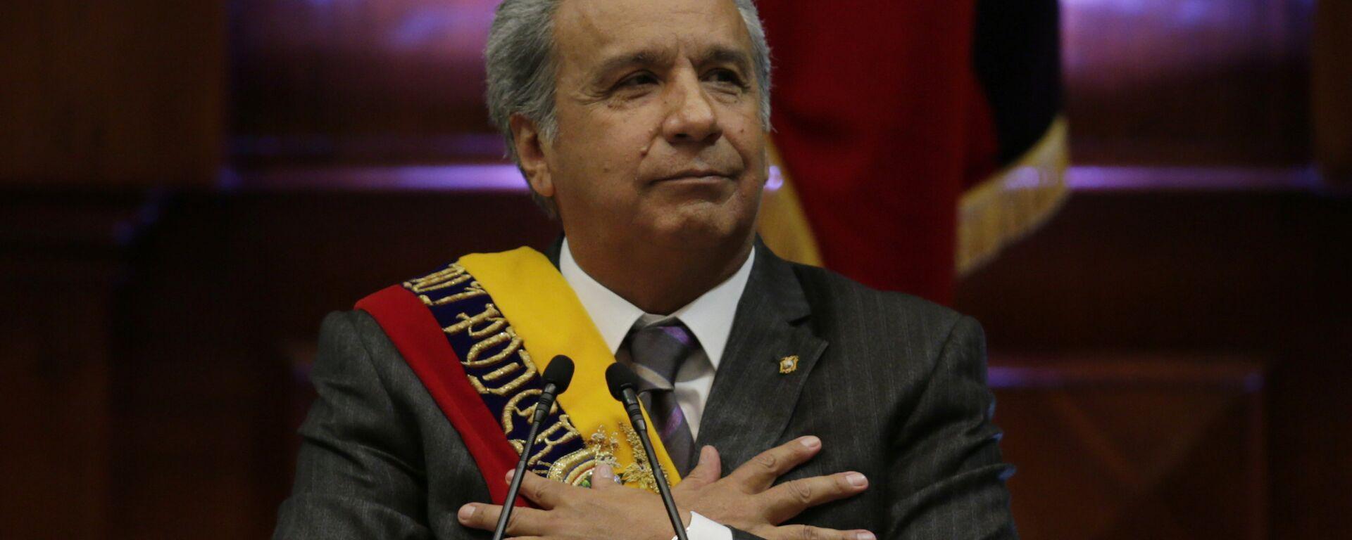 Lenín Moreno, presidente de Ecuador - Sputnik Mundo, 1920, 24.03.2021