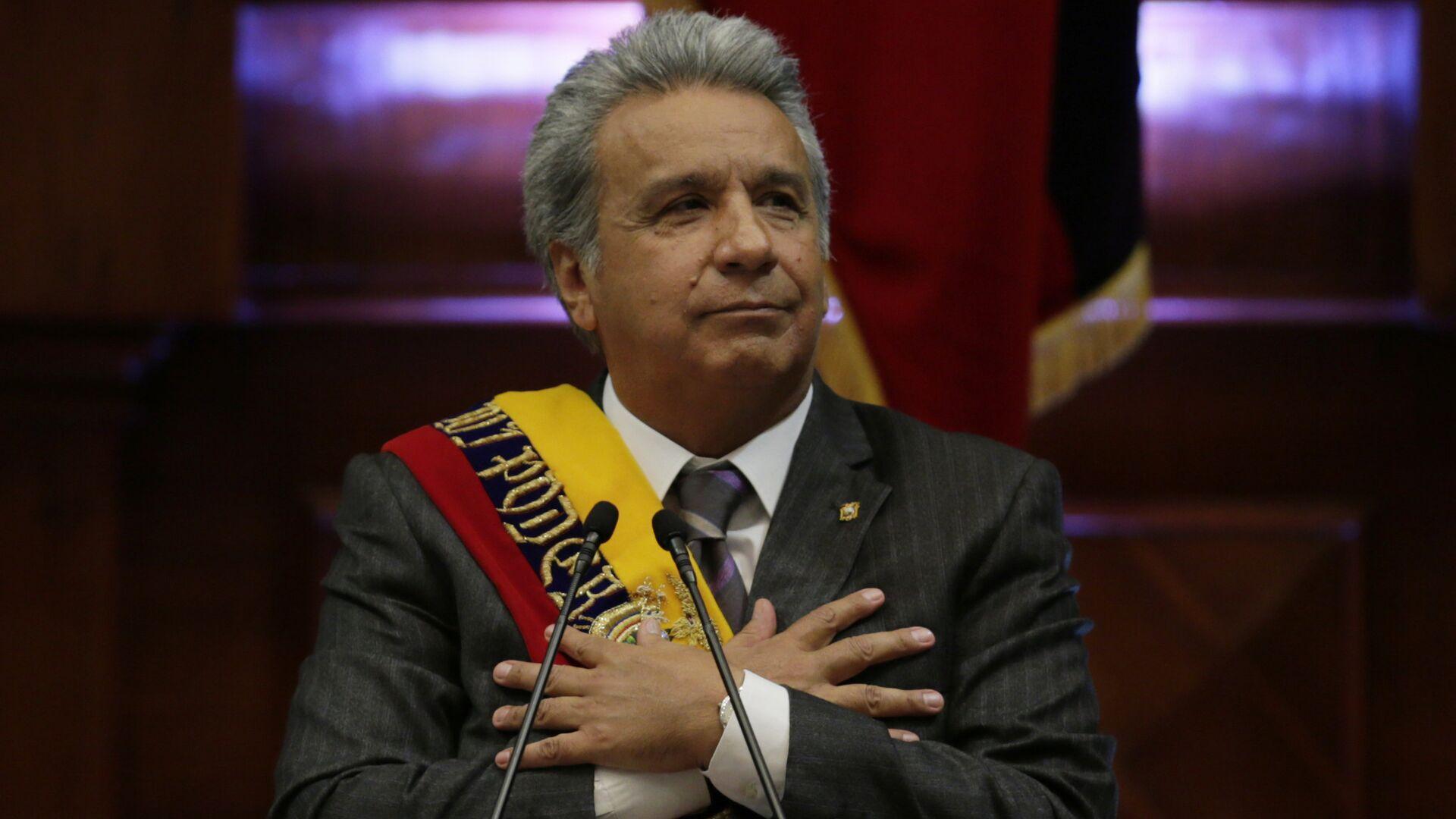 Lenín Moreno, presidente de Ecuador - Sputnik Mundo, 1920, 31.03.2021