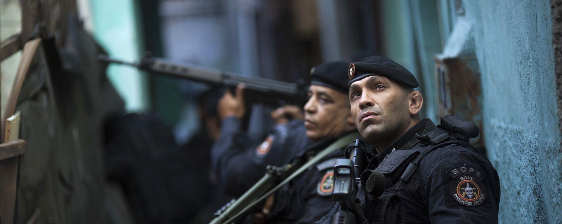 Policía de operaciones especiales de Brasil (archivo) - Sputnik Mundo, 1920, 01.09.2020