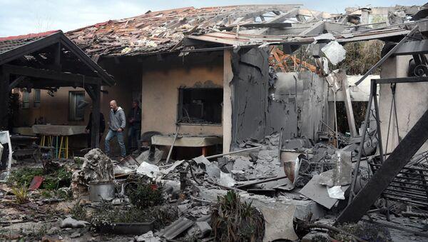 Situación en Tel Aviv tras el ataque - Sputnik Mundo