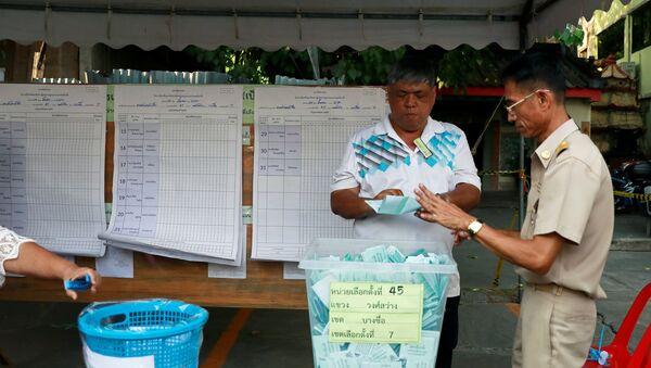 Las elecciones en Tailandia - Sputnik Mundo