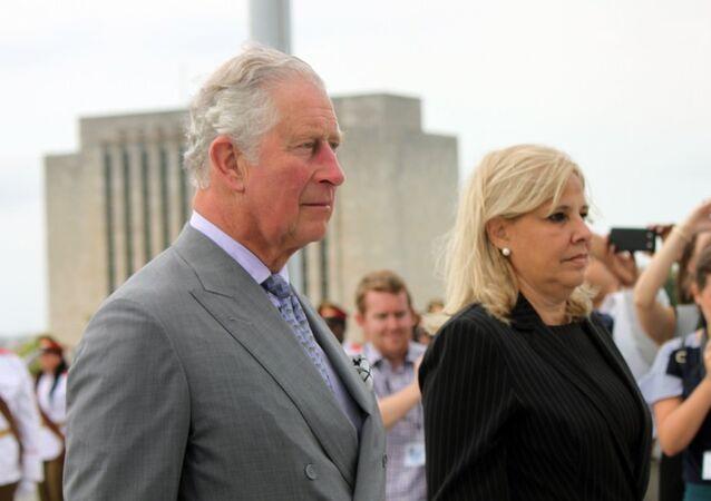 El príncipe Carlos en La Habana