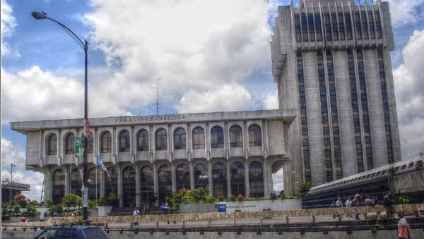 La Corte Suprema de Justicia, Guatemala - Sputnik Mundo