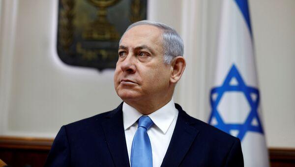 El primer ministro de Israel, Benjamín Netanyahu - Sputnik Mundo