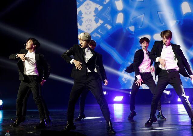 BTS, 'boy band' surcoreana