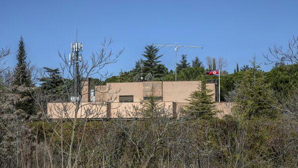 La embajada de Corea del Norte en España - Sputnik Mundo