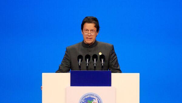 Imran Khan, primer ministro pakistaní - Sputnik Mundo