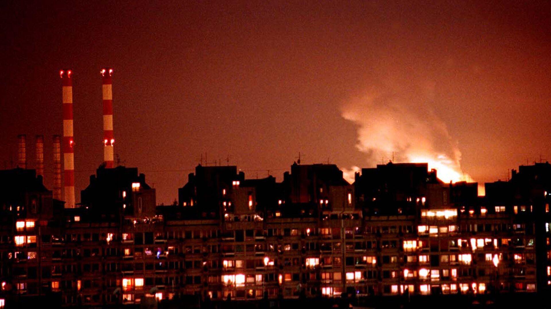 Bombardeos de Yugoslavia por la OTAN en 1999 - Sputnik Mundo, 1920, 18.05.2021