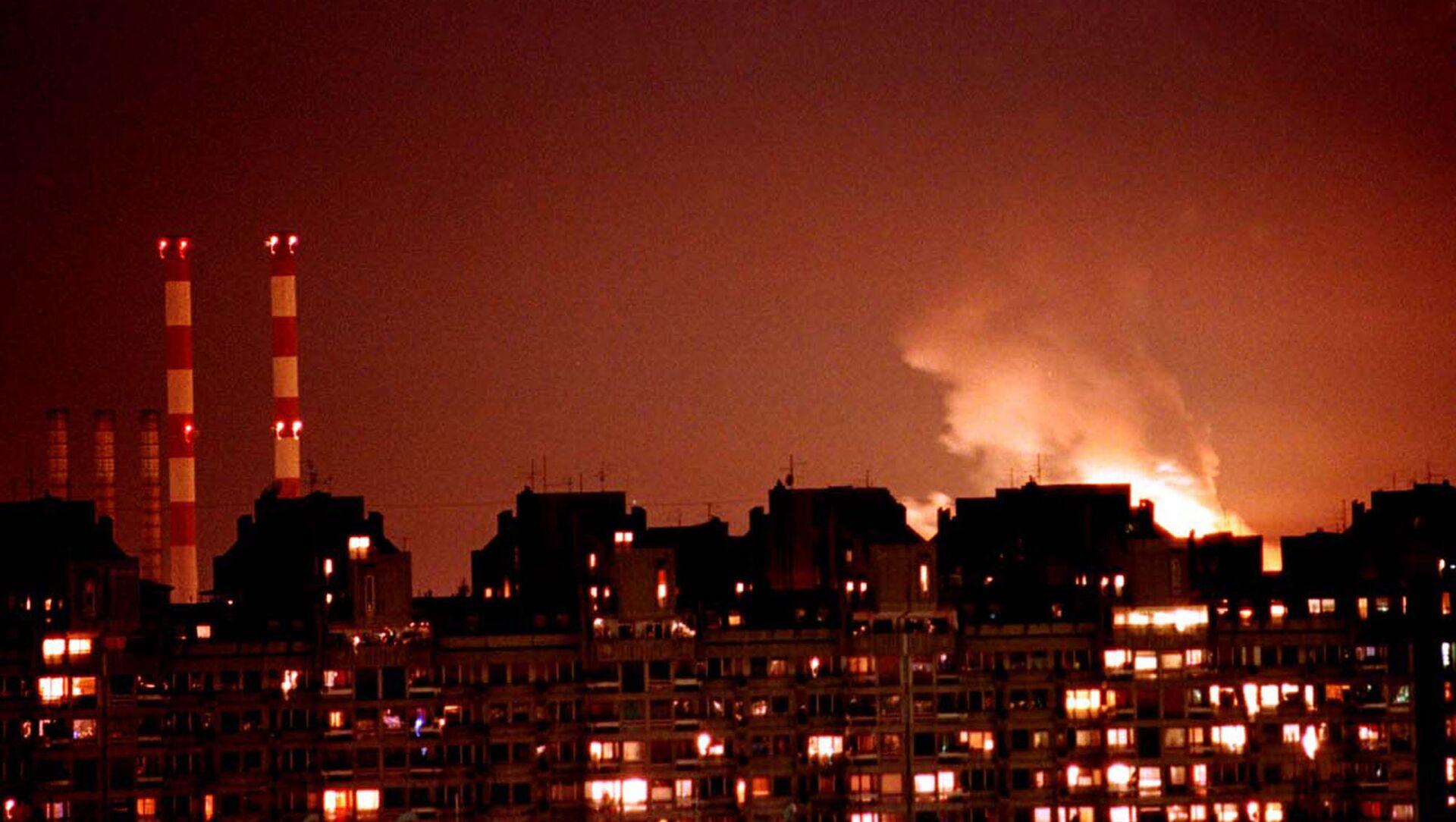 Bombardeos de Yugoslavia por la OTAN en 1999 - Sputnik Mundo, 1920, 31.10.2019