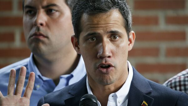 El autoproclamado presidente encargado de Venezuela, Juan Guaidó - Sputnik Mundo