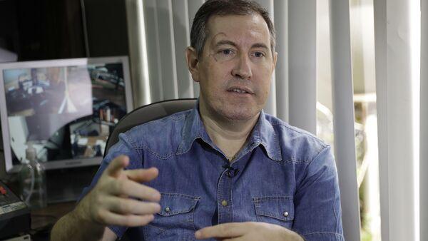 El locutor brasileño de radio Rafael Henzel - Sputnik Mundo