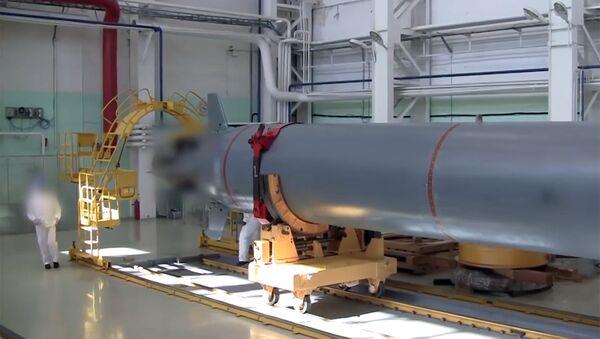 Poseidon, dron submarino nuclear - Sputnik Mundo