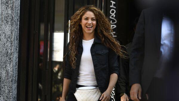 Shakira sale del Juzgado de Madrid - Sputnik Mundo