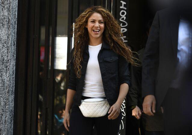 Shakira sale del Juzgado de Madrid
