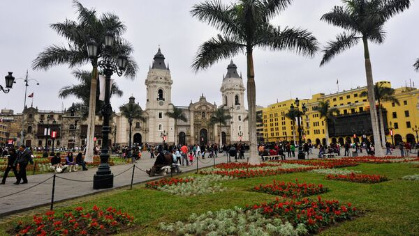 La Plaza Mayor de Lima, Perú - Sputnik Mundo