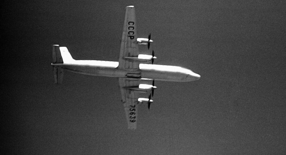 Un Il-18 soviético (archivo)
