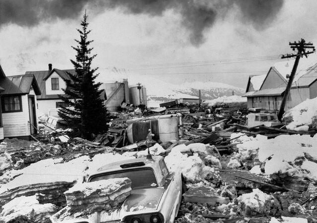 Gran terremoto de Alaska, EEUU, 1964