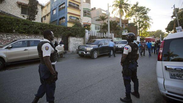 Policía de Haití (Archivo) - Sputnik Mundo