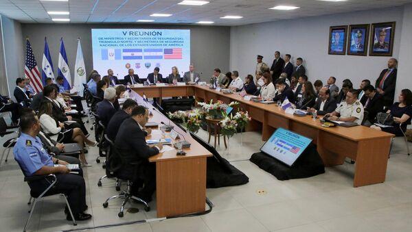 La quinta Reunión de ministros y secretarios de Seguridad de los países del Triángulo Norte y EEUU - Sputnik Mundo