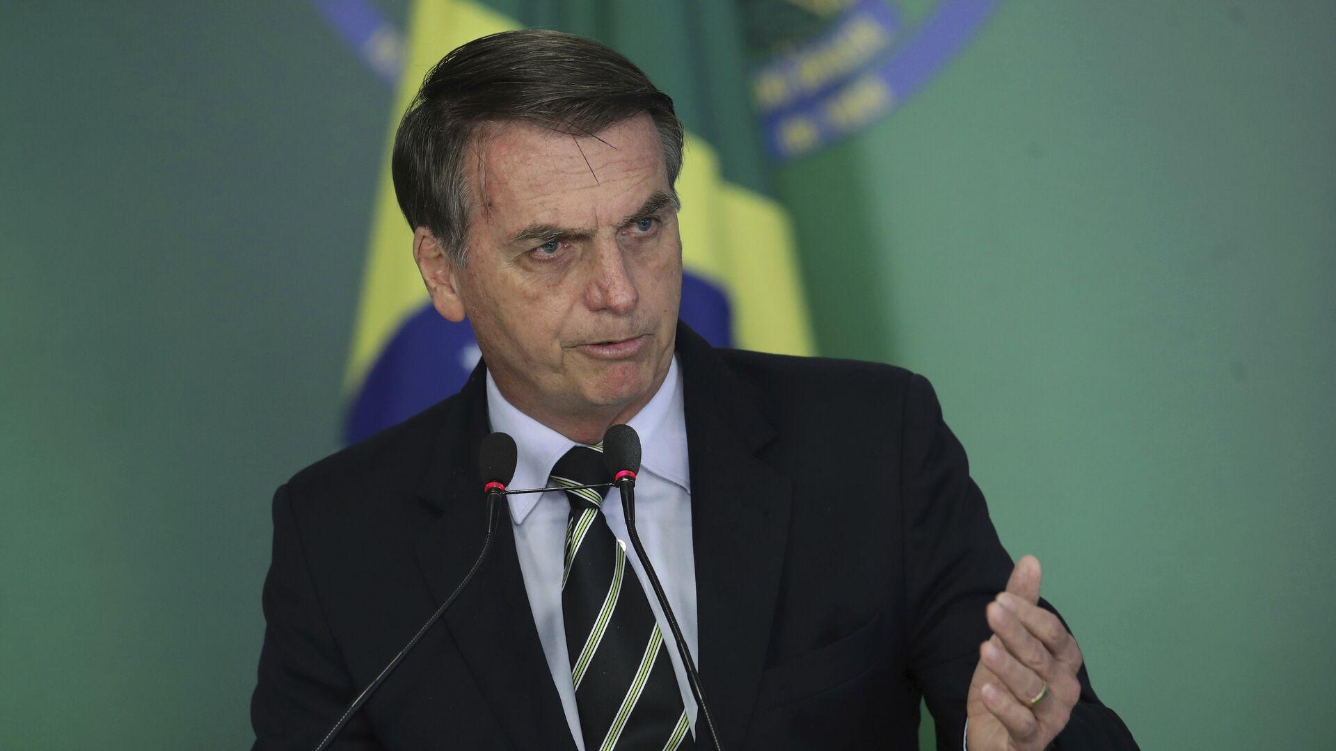 Jair Bolsonaro, presidente de Brasil - Sputnik Mundo, 1920, 25.02.2021